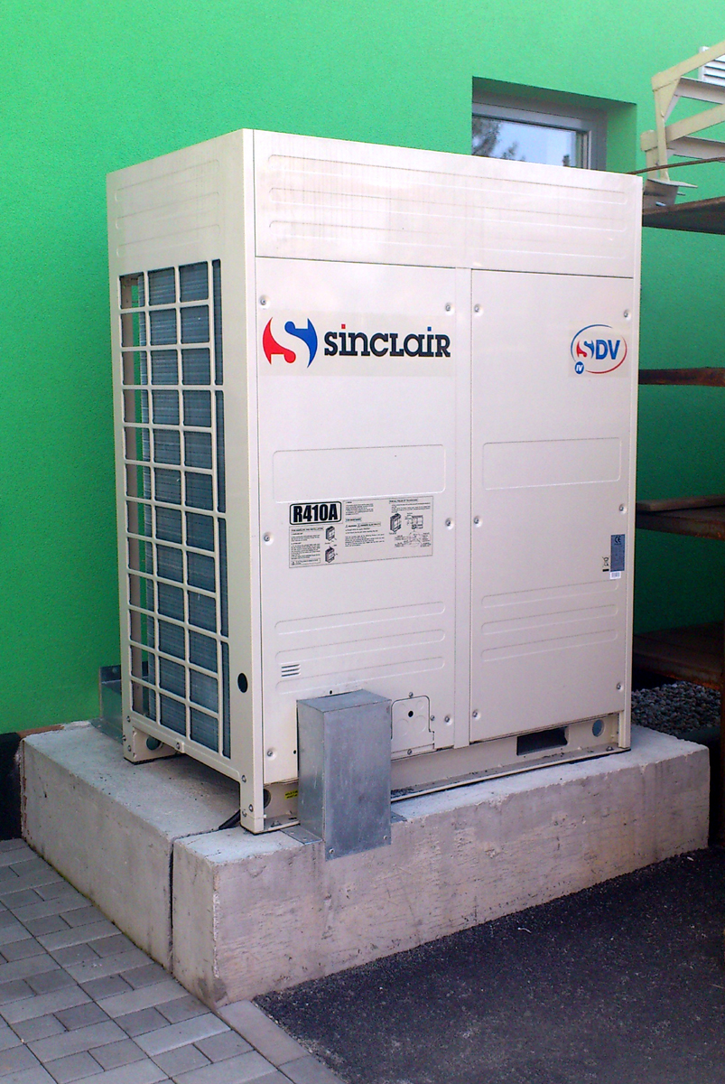 Commercial air conditioner system for private company