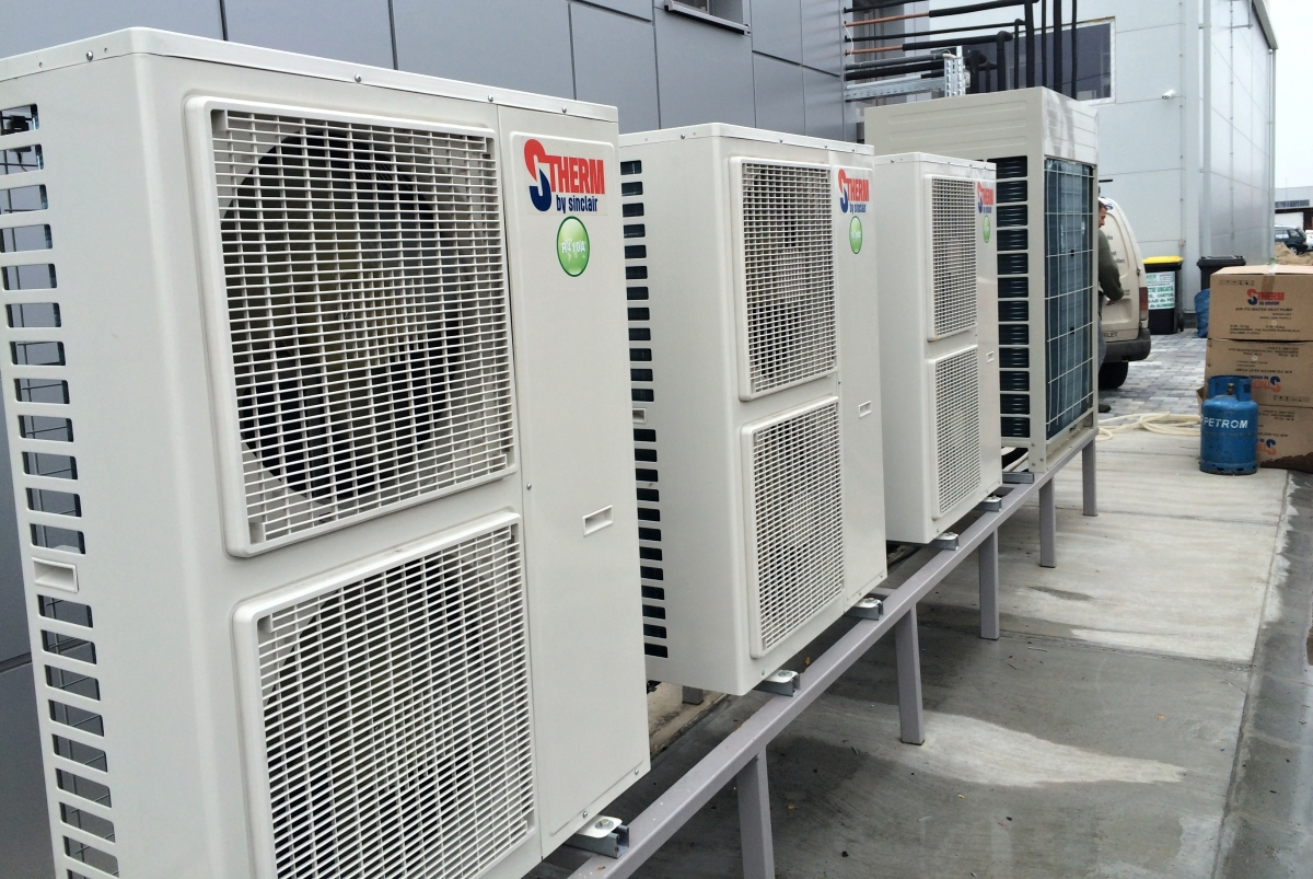 Heat pumps S-THERM for transport company
