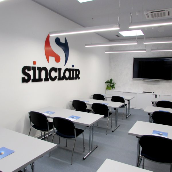 The new SINCLAIR TRAINING ACADEMY