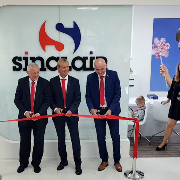 NEW SHOWROOM FOR SINCLAIR SLOVAKIA