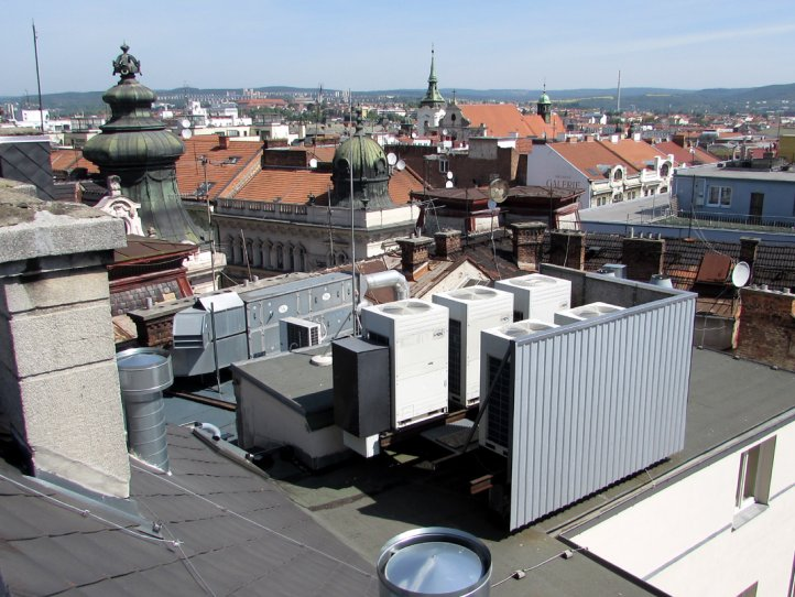 Commercial air conditioner system for hotel Grandezza