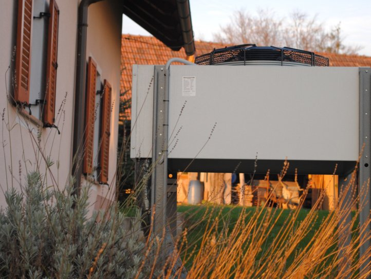 Heat pump S-THERM+ for a family house in Drenov Grič